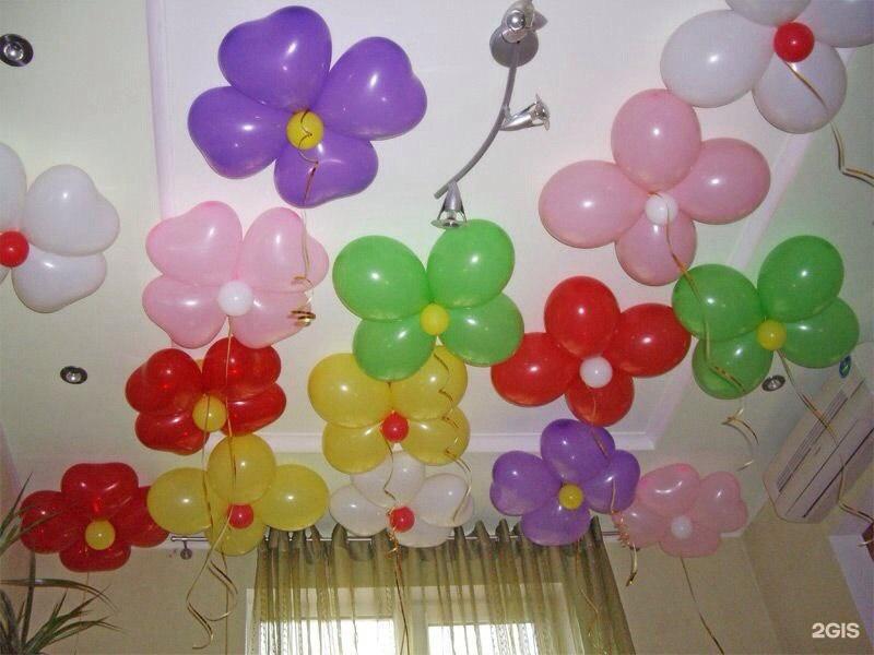 Оформить из шаров своими руками 692