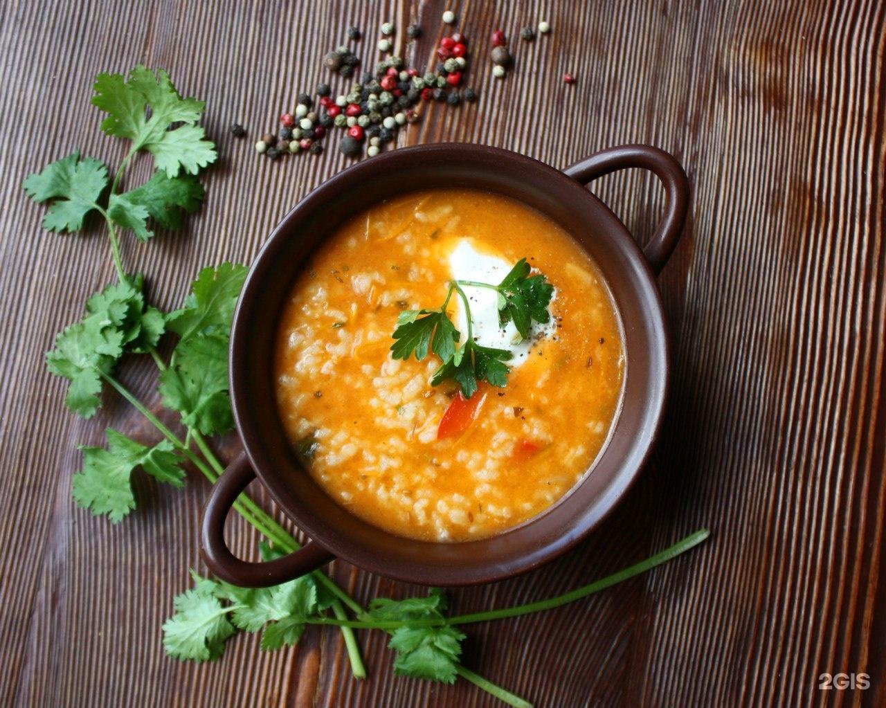 Суп харчо с тушенкой рецепт пошагово в