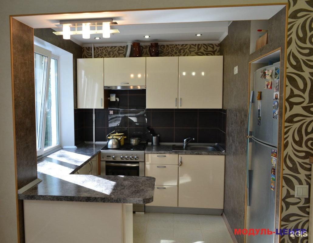 Кухня с залом дизайн фото хрущевка