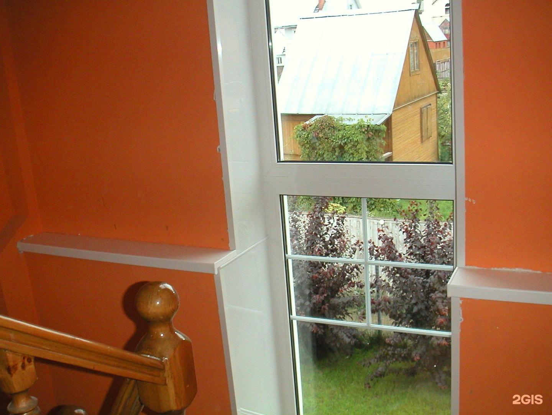 Лестничные окна фото