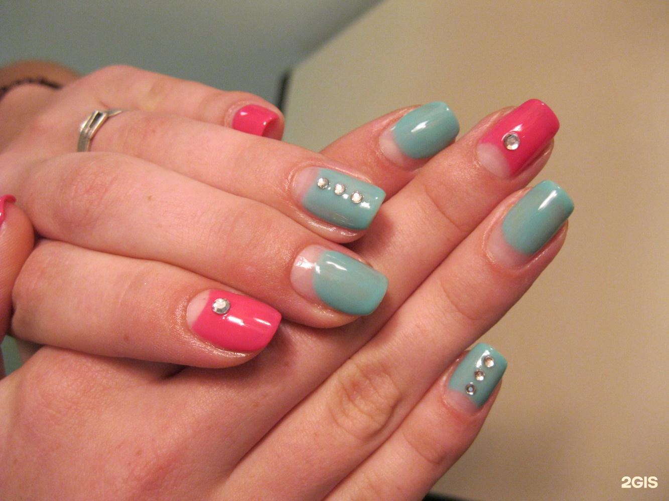 Шеллак дизайн на короткие ногти лучшие работы
