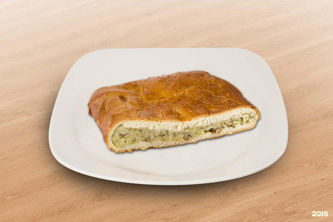 Картофельный пирог в духовке пошаговый рецепт