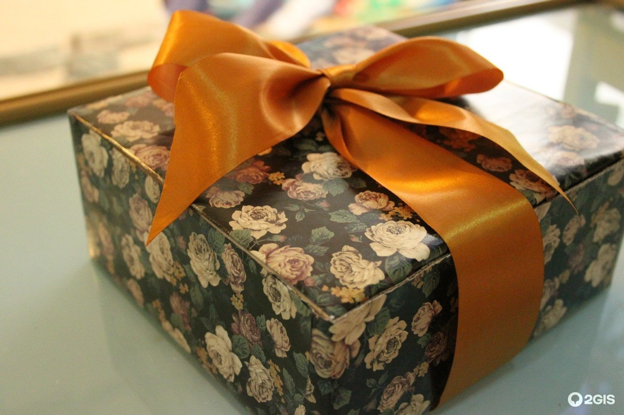 Упаковка подарка в кирове