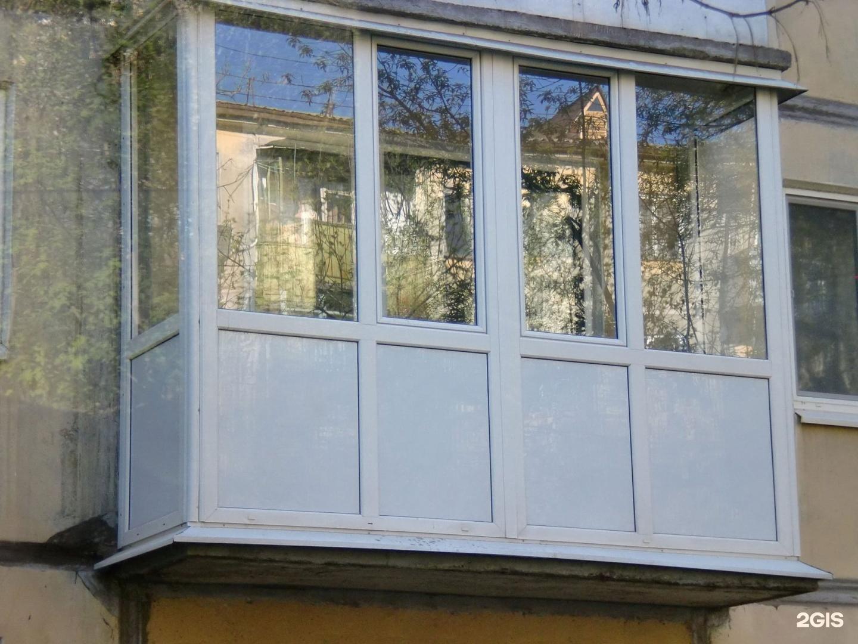 Остекление балконов в уфе от 10000.00 рублей.