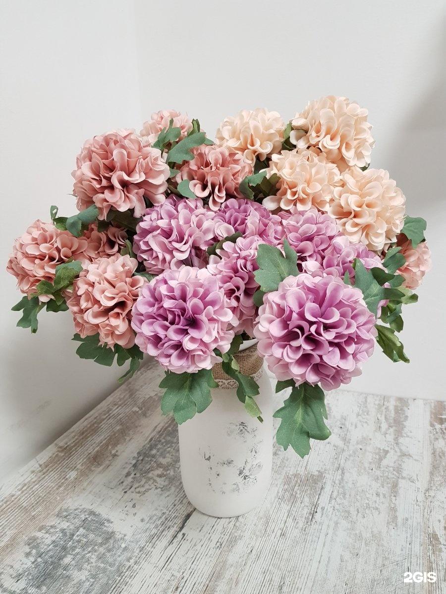 Где купить искусственные цветы в кирове