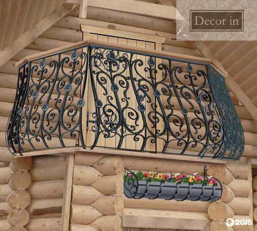 Кованый балкон, фото перил, преимущества и недостатки кованы.