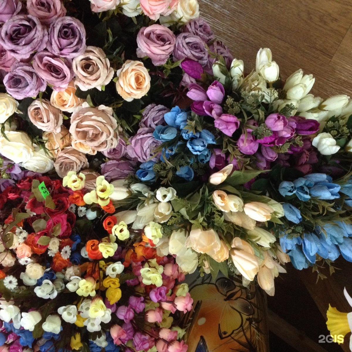 Цветы, купить искусственные цветы в старом осколе