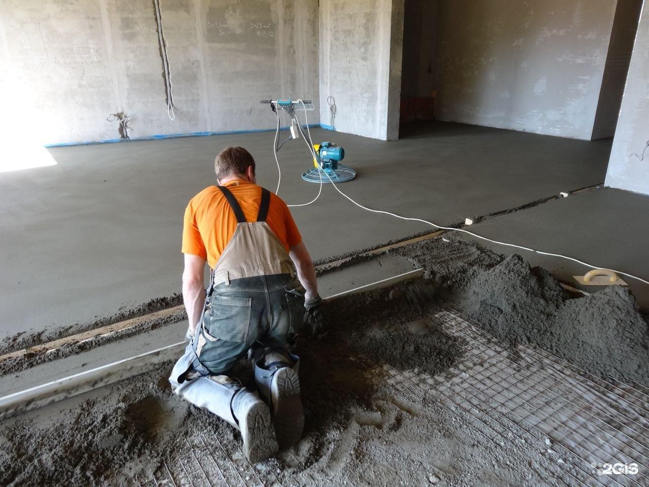 быстро встающий бетон
