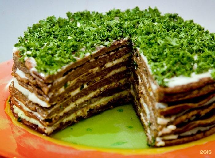 Торт из печени рецепт фото