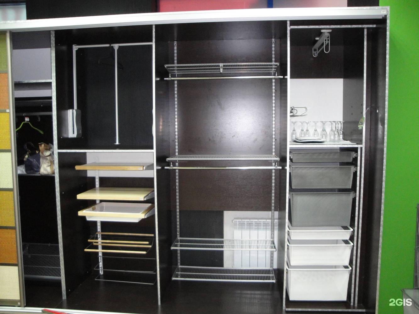 Проекты купить гардеробные системы по низким ценам, металлич.