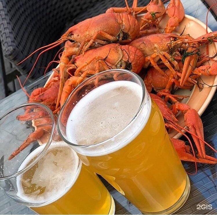 Картинки пиво с раками и рыбой